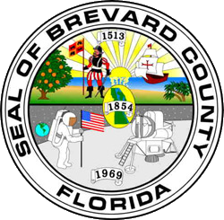 Seal of Brevard County Florida transparent